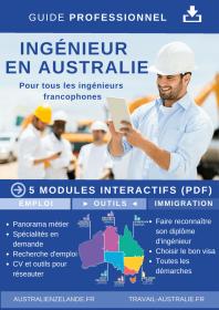 Ingénieur en Australie - le guide numérique téléchargeable