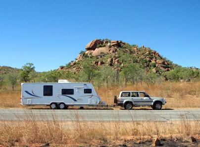 Quel véhicule pour traverser l'Outback