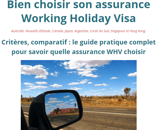 comment-choisir-assurance-working-holiday-visa