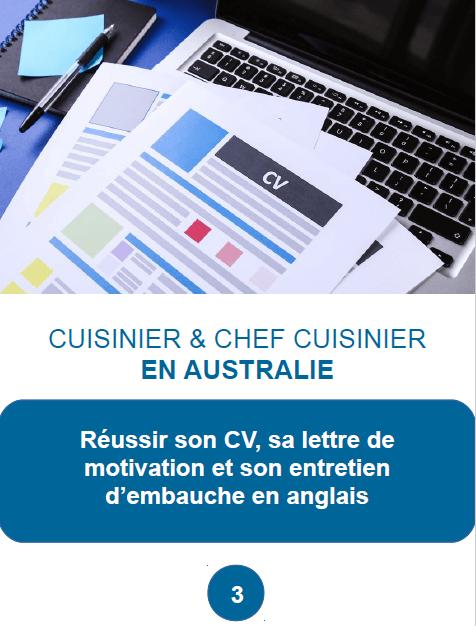 cuisinier et chef cuisinier en australie guide professionnel 2017