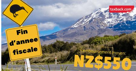 récupérer ses taxes nouvelle-zélande tax refunds