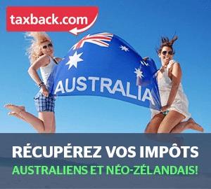 Australie et Nouvelle-zélande  - Récupérer ses impôts, tax back et tax refund