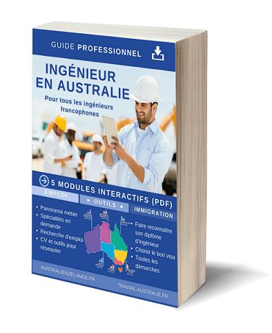 Guide ingénieur en Australie Couverture 3D